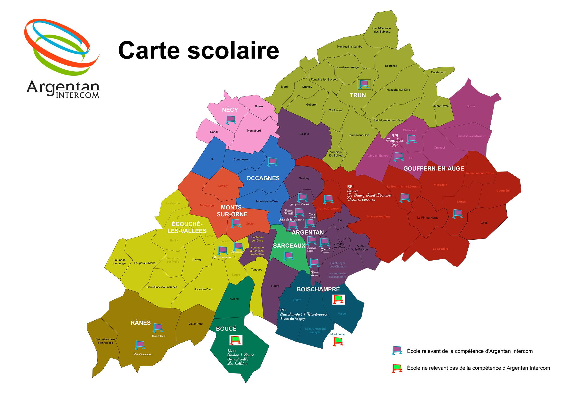 Carte scolaire