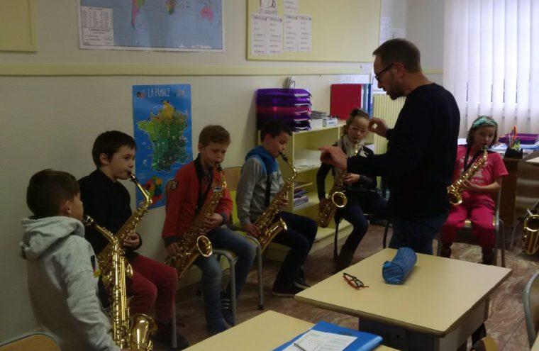 Orchestre à l'école