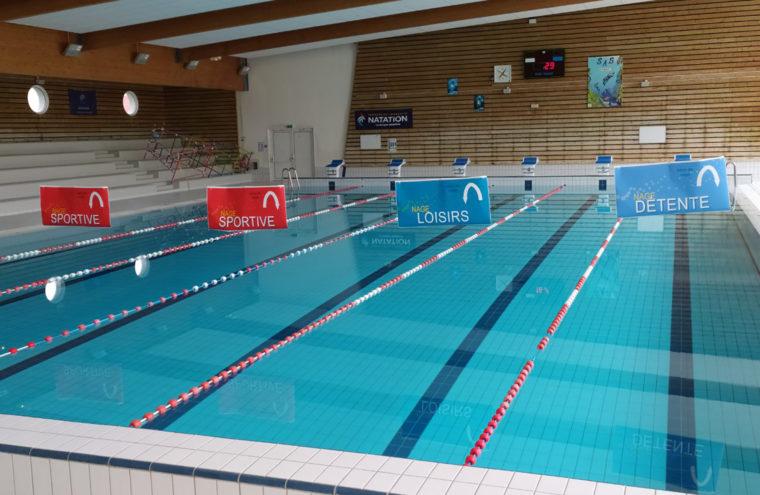 Réouverture couloir nage